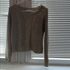 Tan/beige sweater from Forever 21